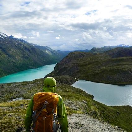 Parque Nacional Jotunheimen y la montaña más grande de Noruega