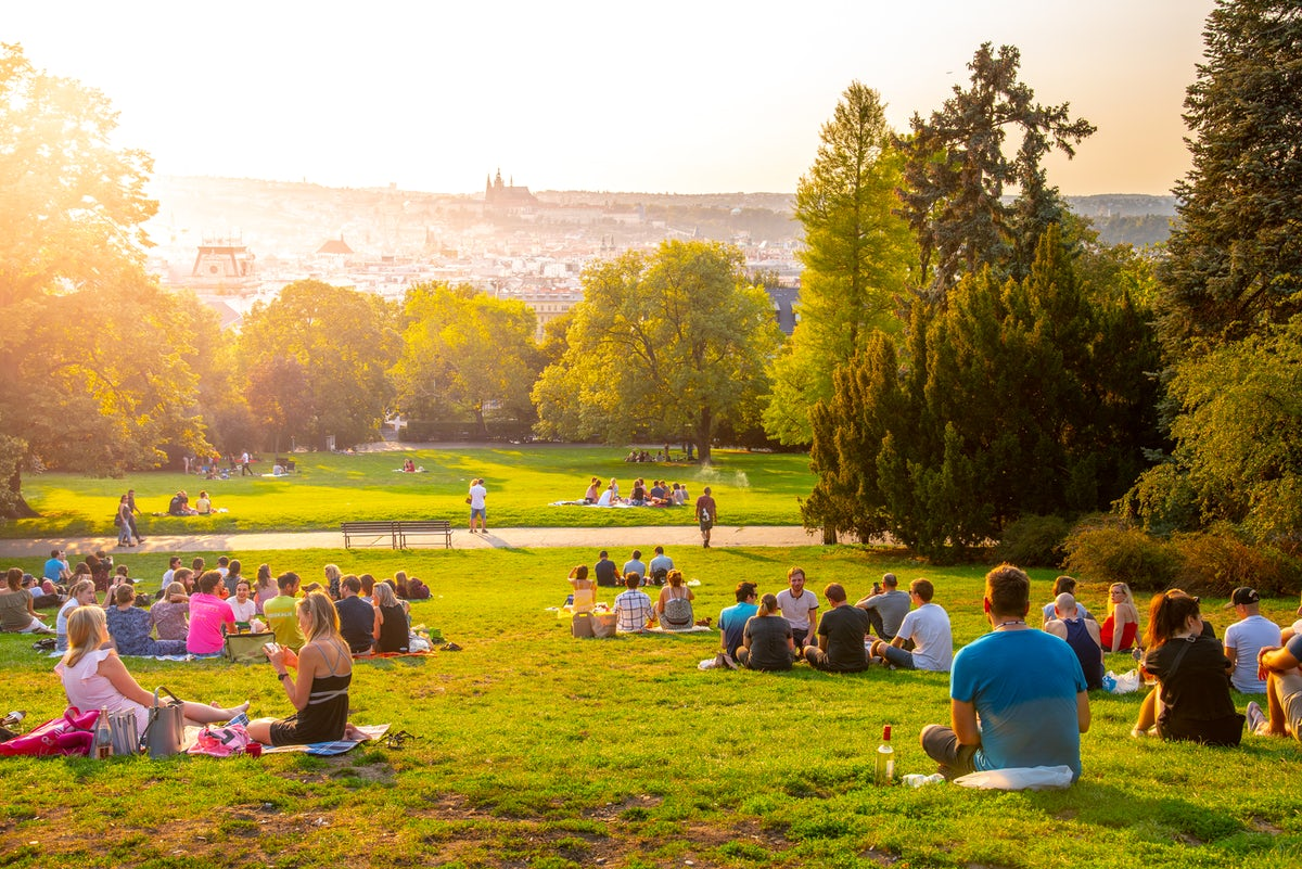 Prague's worth-visiting green areas & parks