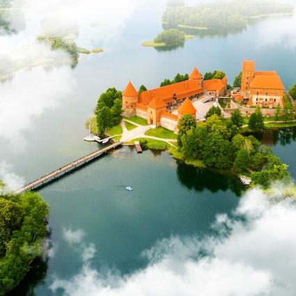 Jóia lituana - Castelo de Trakai