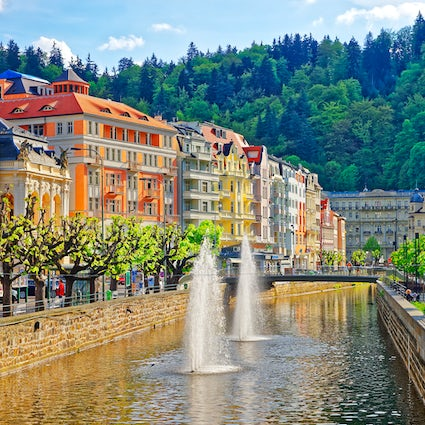 Karlovy Vary, ville thermale
