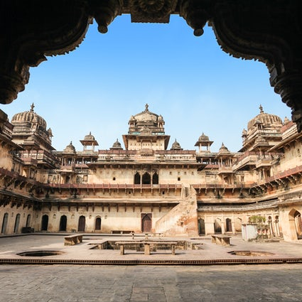 Entdecken Sie Orchha Fort & Orchha Wildlife Sanctuary, Madhya Pradesh