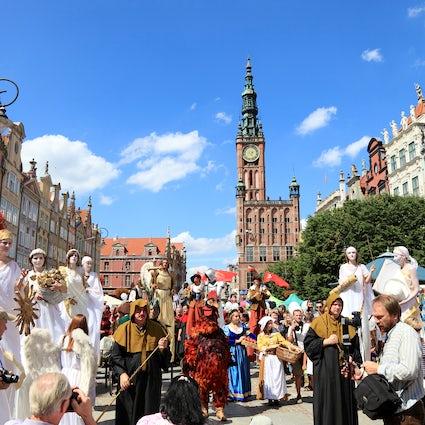 Jarmark Dominikański: El Festival de la Ciudad de San Juan en Gdańsk