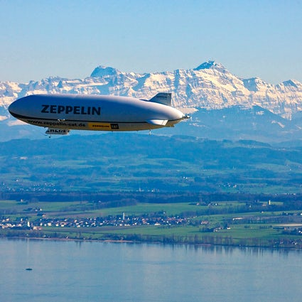 Relive the history on board Zeppelin