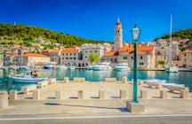 Pučišća, a cidade de pedra