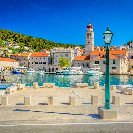 Pučišća, la città di pietra