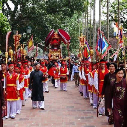 Kulturelle Sehenswürdigkeiten in Ninh Binh, Nordvietnam