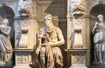 Michelangelo's legends in Rome