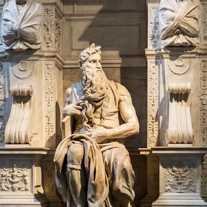 Michelangelo's legends in Rome