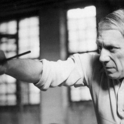 Cómo Picasso se ofreció como voluntario para la película más cara de los Balcanes