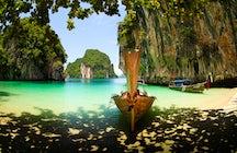 Excursiones de un día desde Krabi: nivel fácil