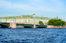 Hermitage in Saint Petersburg: world's second-largest art museum
