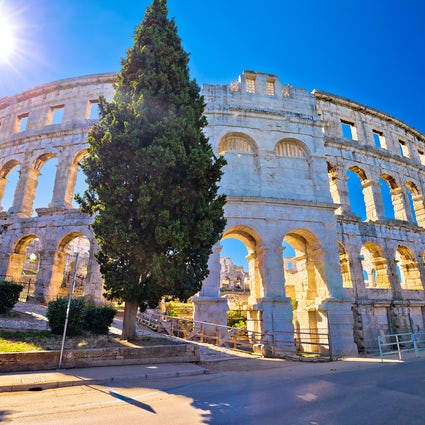 A spectacular and fascinating Pula Arena