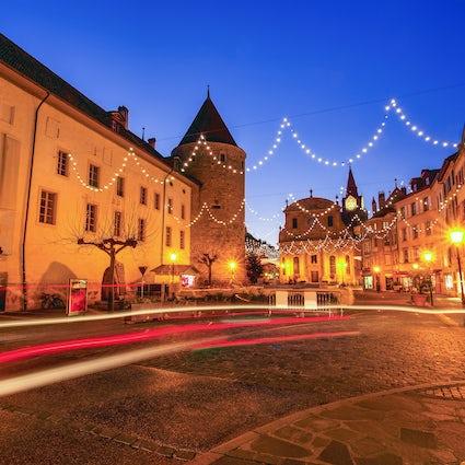 Yverdon-Les-Bains; donde la historia se encuentra con el bienestar