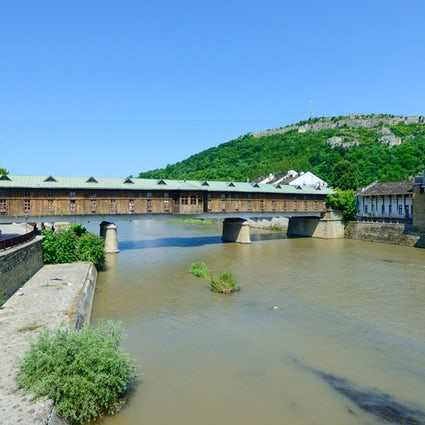 Bulgaria's first shopping mall: The Covered Bridge