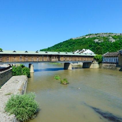 El primer centro comercial de Bulgaria: The Covered Bridge
