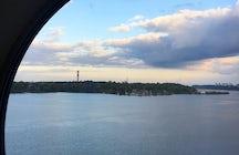 Navegación desde Estocolmo, Suecia hasta Mariehamn, Isla Åland