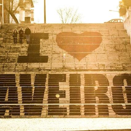 Las escaleras más famosas de Aveiro