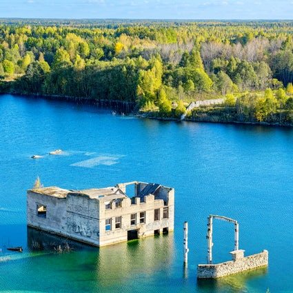 Estonia's abandoned prisons: the sights to see