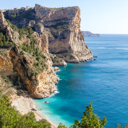Hiking and swimming in Javea - Cala Moraig