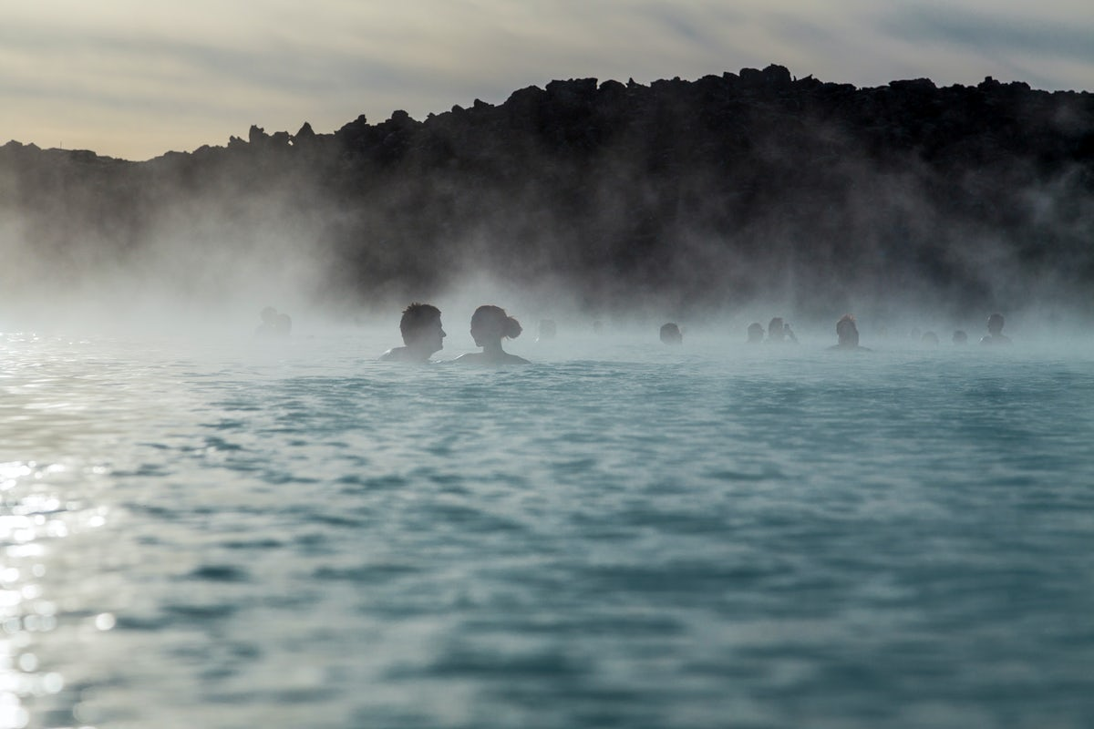 Hot pools and springs of Iceland