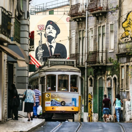 Urban Art in Lisboa 2: the melting pot zones