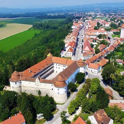 Schloss Brežice, ein Heimatmuseum in einer historischen Zitadelle