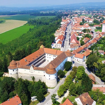 Brežice Castle, a local museum within a historical citadel