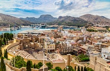 The Roman side of Cartagena, Murcia