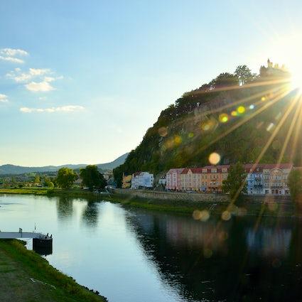 Decin- La ciudad del cañón de arenisca de la República Checa