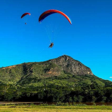 Excelentes vistas desde el Pico do Ibituruna, Governador Valadares