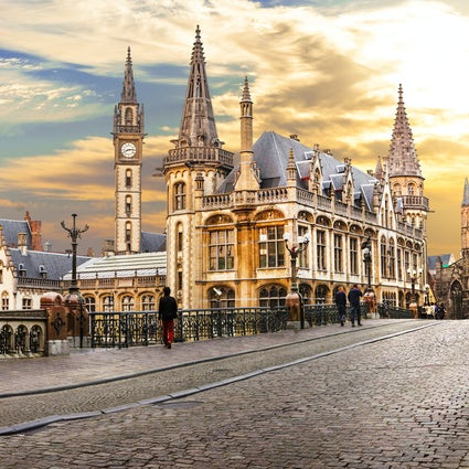 Ghent, a carefree walk with a happy ending