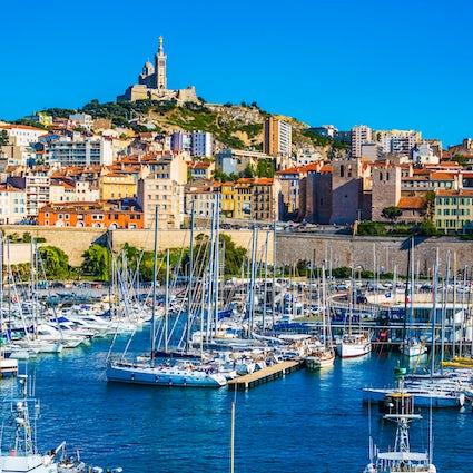 Marseille, gateway to the Mediterranean sea