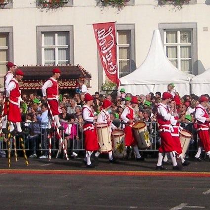 Namur & the Fêtes de Wallonie folklore and music festival