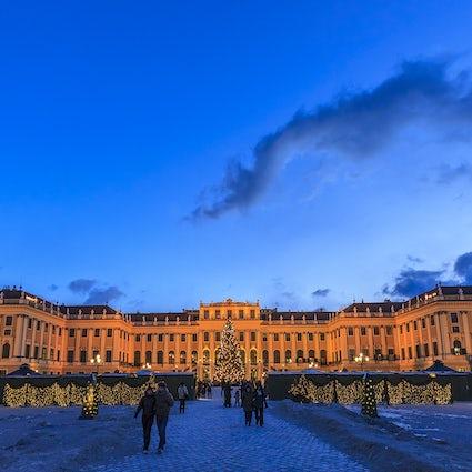 Un toque imperial en el mercado del palacio de Schönbrunn