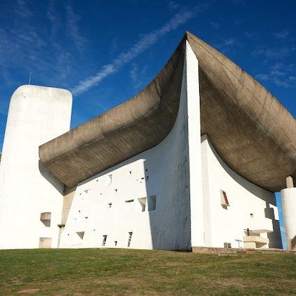Notre-Dame-du-Haut, the magnificent concrete chapel in Ronchamp