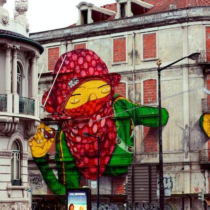 Arte Urbano en Lisboa 3: a lo largo de las grandes avenidas
