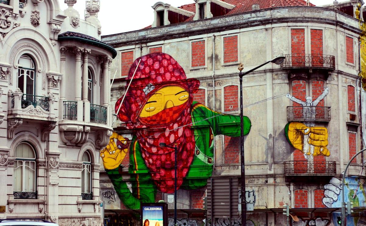 Urban Art in Lisboa 3: along the big avenues