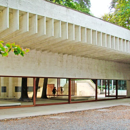 The Nordic Pavilion in Venice, by Sverre Fehn