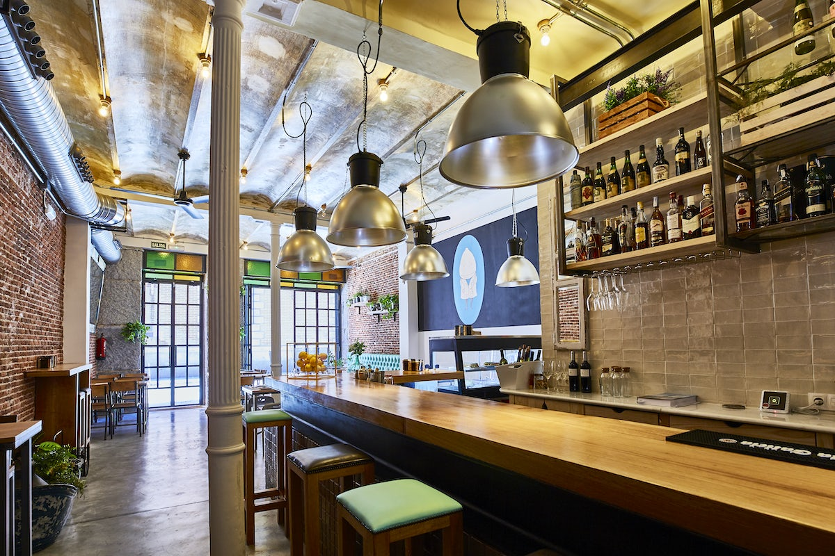 Workplace cafes in Madrid; Dr Limon