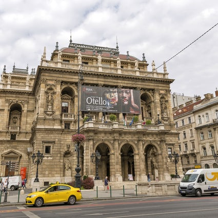 The main artery of Budapest, namely Andrássy Street