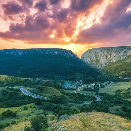 The fascinating gorges Turda and Bicaz