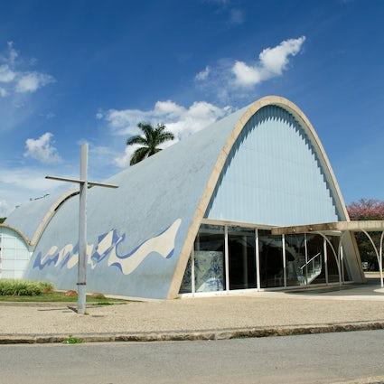 Oscar Niemeyer's masterpieces in Belo Horizonte
