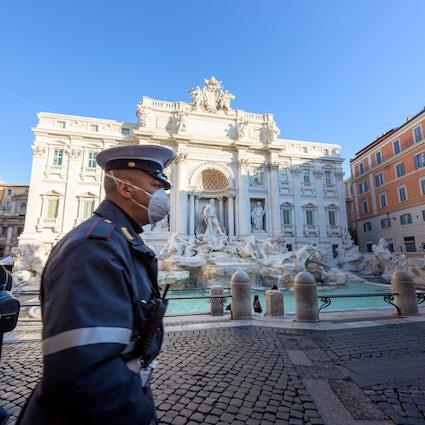 Rom: die große Schönheit zur Zeit von COVID-19