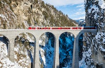 Swiss trains - the Glacier Express