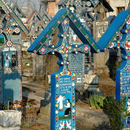 Where death is joyful, the Merry Cemetery in Săpânța