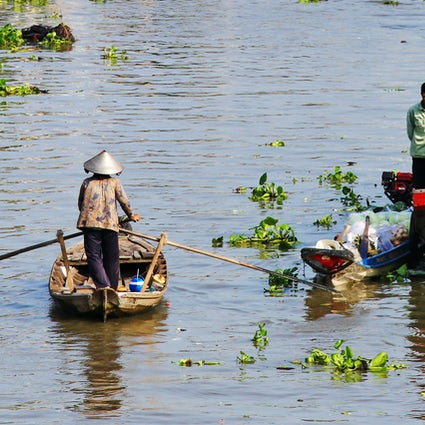 The best floating markets of Mekong Delta