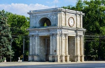The symbol of victory: The Triumphal Arch in Chisinau