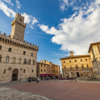 A jewel of the Renaissance in Tuscany - Montepulciano
