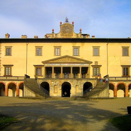 Tres villas Medici en Toscana de entrada gratis