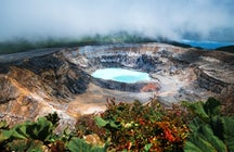 Poás Volcano: Adventure to an active crater's edge